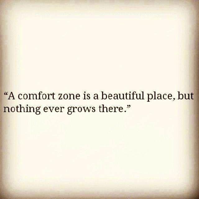 Comfot zone
