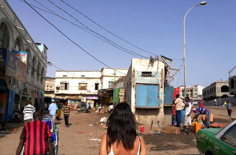 gibuti city - market